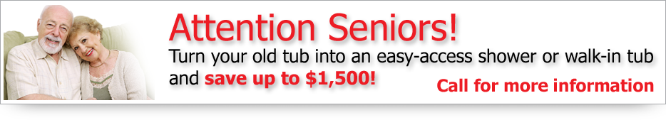 Better bathroom for seniors - call Image Design now