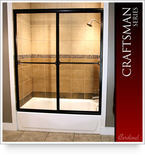 Craftsman series shower door