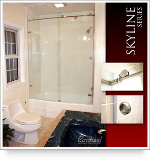 Cardinal Shower Enclosures is pleased to announce the availability of our new Skyline series shower enclosures. This sleek enclosure is simple and elegant. & Deluxe Bath | Cardinal Shower Enclosures Pezcame.Com