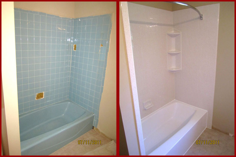 Portfolio deluxe bath for Bathtub replacement liner