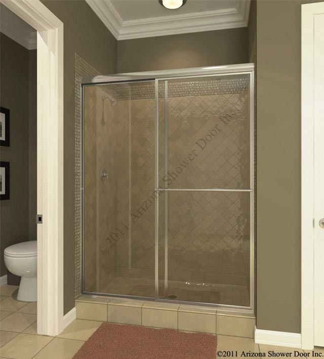 deluxe bath arizona shower door 87739